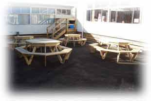 St Heliers School Referral Photo of Breswa Octagon BBQ Tables